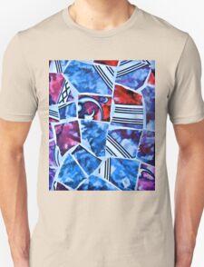 Mosaic Blue Unisex T-Shirt