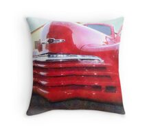 1947 Chevy Brought Back to Life Throw Pillow