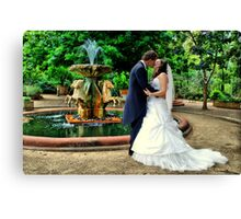 Lakeside Kiss Canvas Print