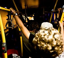 On a Crowded Bus by Daniel Peut