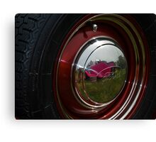 Hub Cap Reflections Canvas Print