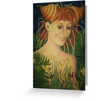 Fragrance of the wild soul Greeting Card