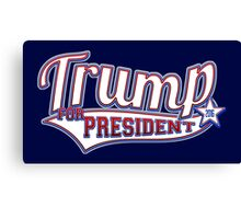 Donald Trump for President 2016 Canvas Print
