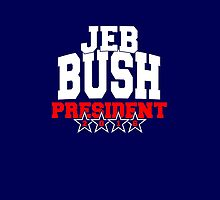 Jeb Bush for President 2016 by Garaga