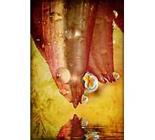Tropical Relection Photographic Print