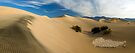 Stovepipe Wells Dunes Panorama-2 by Zane Paxton