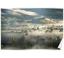 Mist in the Valley Poster
