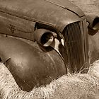 Old Car at Bodie by Zane Paxton