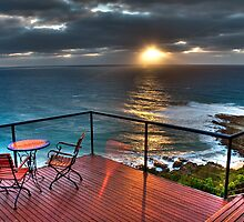 The Deck House  - Sunrise by Frank Moroni