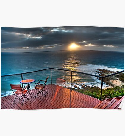 The Deck House  - Sunrise Poster