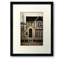 Suburba Two Framed Print