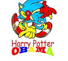 HARRY POTTER OBAMA by EdenBelmont