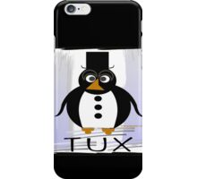 TUX:  FORMAL iPhone Case/Skin