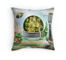 Aloo Gobi Throw Pillow