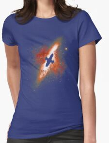Firefly in the Sky Womens Fitted T-Shirt