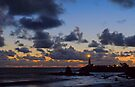 Pigeon Point Lighthouse Clearing Storm by Zane Paxton