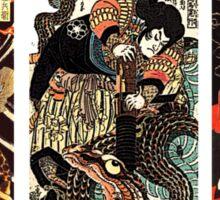 Samurai Tryptych Sticker