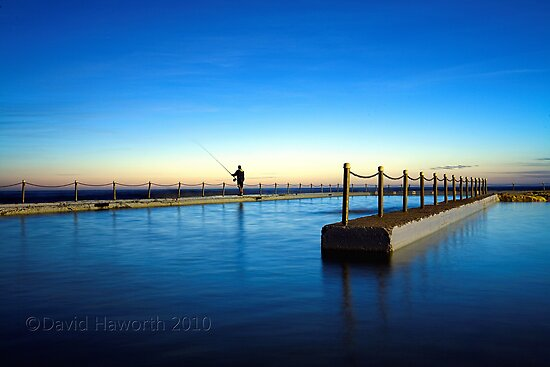 Fishing the Blue by David Haworth
