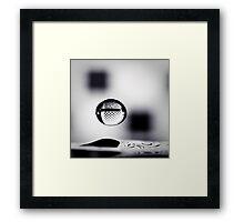 ...suspense... Framed Print