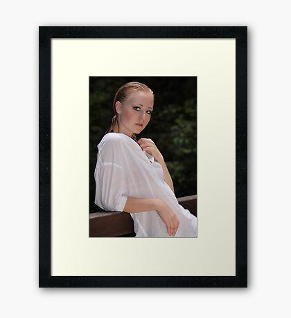 Natural Niki Framed Print