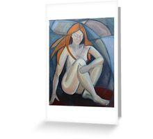 Redhead 4 Greeting Card