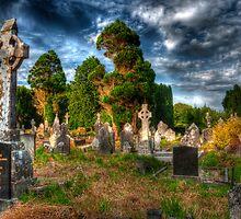 Kilbrogan Cemetery Ireland by Phillip Cullinane