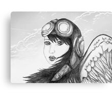 Angel Flight One - Preparing for Takeoff Canvas Print