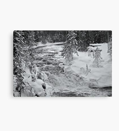 Oreälven, Sweden Canvas Print