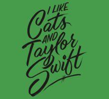 I Like Cats & Taylor Swift Kids Clothes