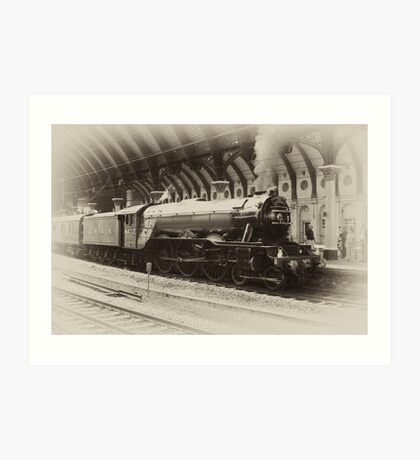 Flying Scotsman Art Print