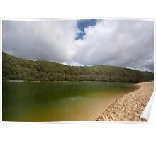 Lake Waddy from the bottom Poster
