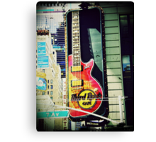 Hard Rock Cafe Canvas Print