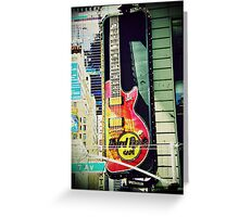 Hard Rock Cafe Greeting Card