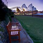 Take A Seat (Opera House), NSW by Darren Greenwell