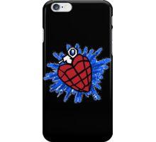 Heart Hand Grenade  iPhone Case/Skin