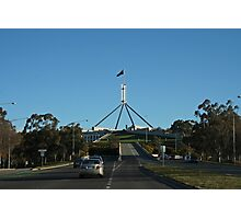 Parliament House View From the Road Photographic Print
