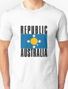 New Australian Flag for a New Australian Republic T-Shirt