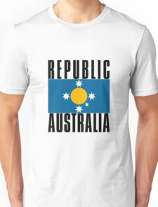New Australian Flag for a New Australian Republic T-Shirt