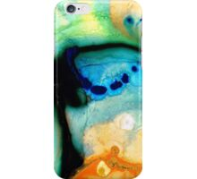 Colorful Abstract Art - The Calling - By Sharon Cummings iPhone Case/Skin