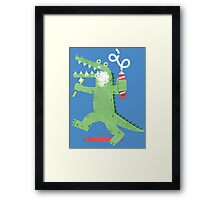Squeaky Clean Fun Framed Print