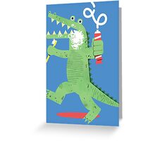 Squeaky Clean Fun Greeting Card