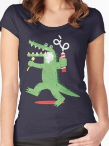 Squeaky Clean Fun Women's Fitted Scoop T-Shirt