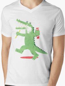 Squeaky Clean Fun Mens V-Neck T-Shirt