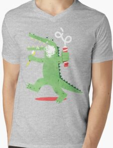 Squeaky Clean Fun Mens V-Neck T-Shirt