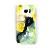 Yellow And Green Abstract Art - Into The Light - Sharon Cummings Samsung Galaxy Case/Skin