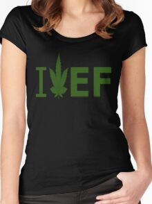 I Love EF Women's Fitted Scoop T-Shirt