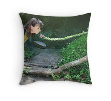 Reaching... Throw Pillow