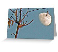 hanging moon Greeting Card