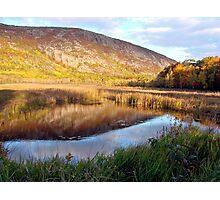 Champlain Mountain, Morning Light Photographic Print