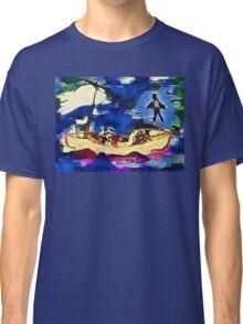 Jesus walks on water. Classic T-Shirt
